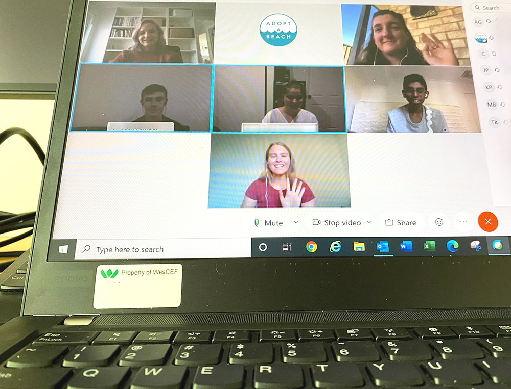 Youth Reference Group virtual meeting